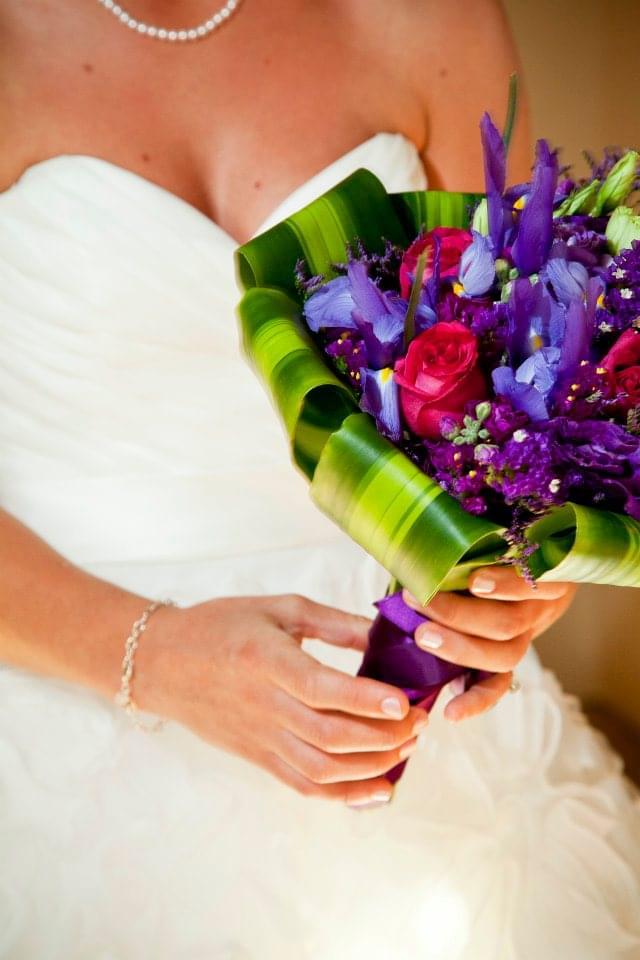 wiązanki ślubne 2012