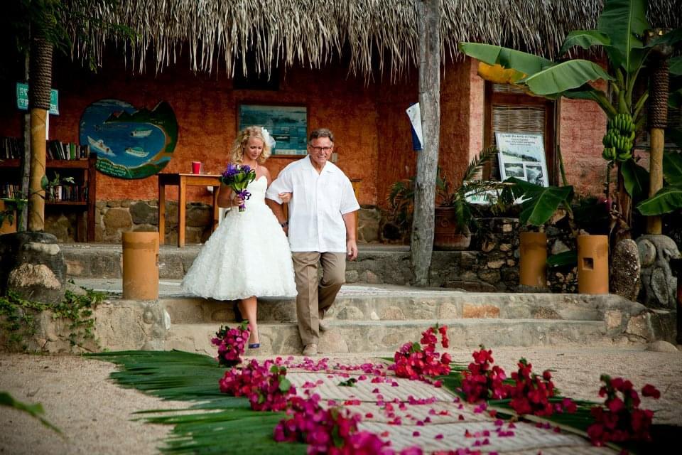 ślub i wesele na plaży Meksyk