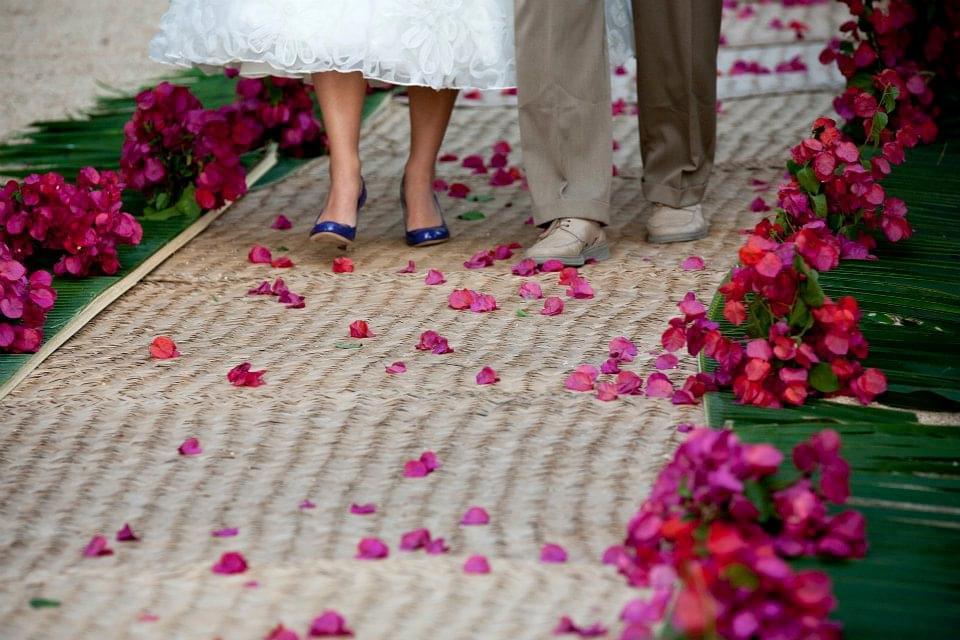 dywan do ślubu