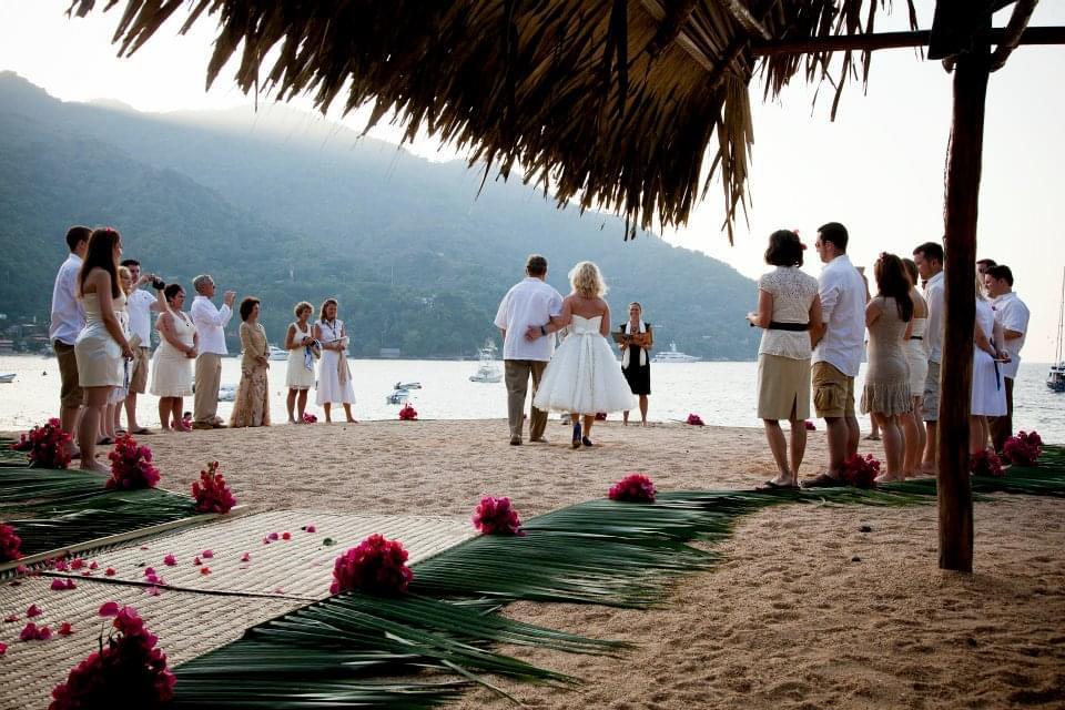 ślub i wesele na plaży