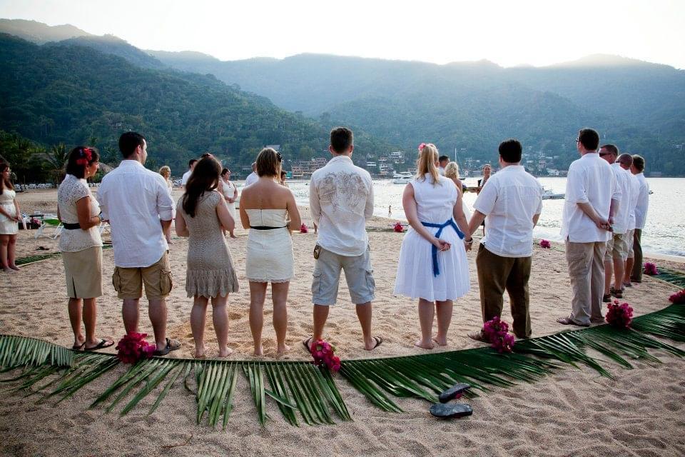 ślub i wesele na dworze