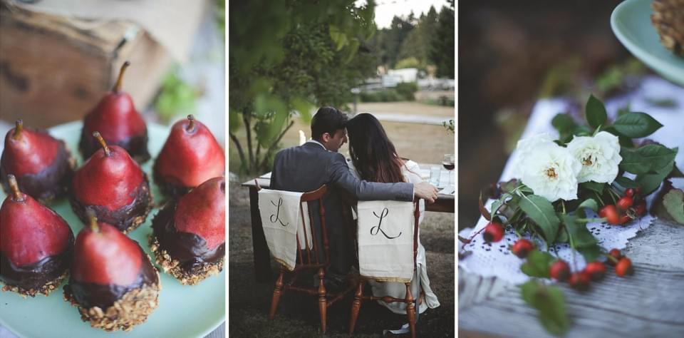 ślub jesienią dekoracje