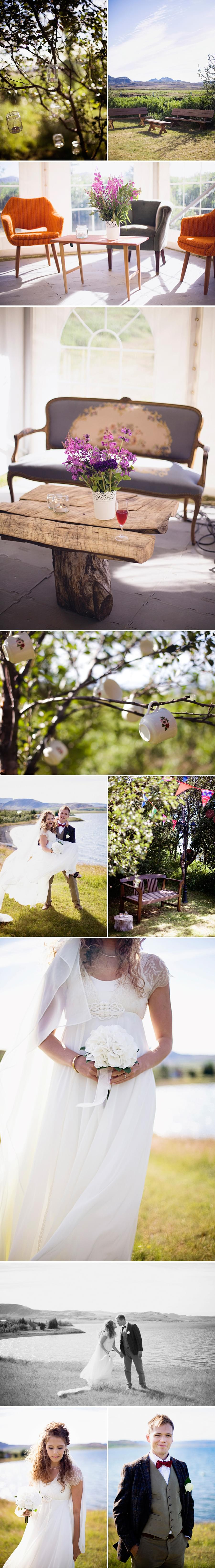 ślub na islandii gudny photography Kotstrandarkirkja