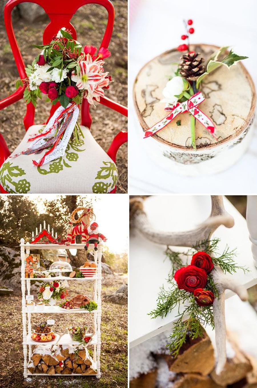 ślubne inspiracje wesele w grudniu