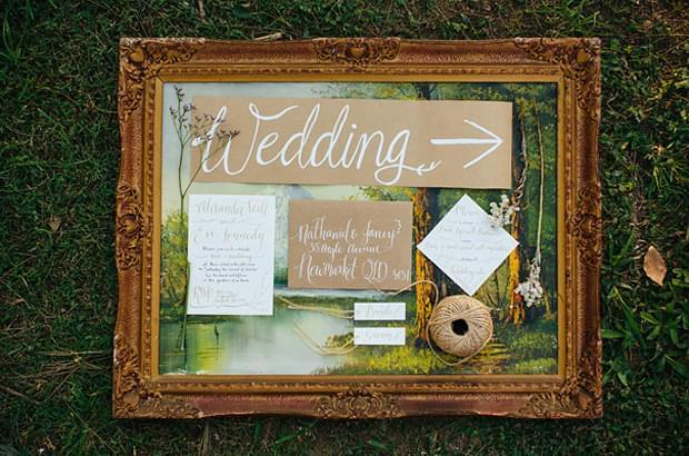 ślubne zaproszenia papeteria motyw lasu