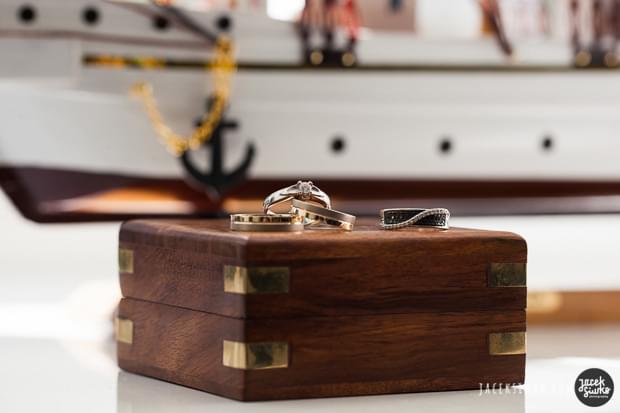 żeglarski ślub motyw przewodni ślub na darze pomorza zdjęcia (1)