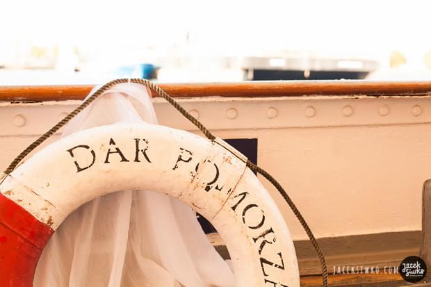 ślub marynarski na darze pomorza