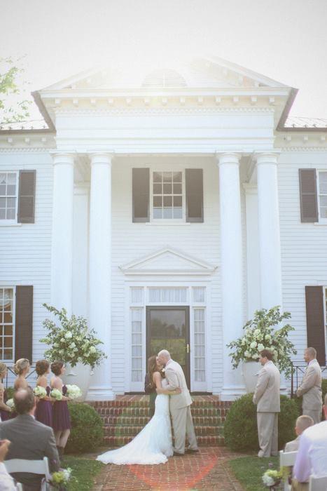 piękna amerykańska sesja ślubna