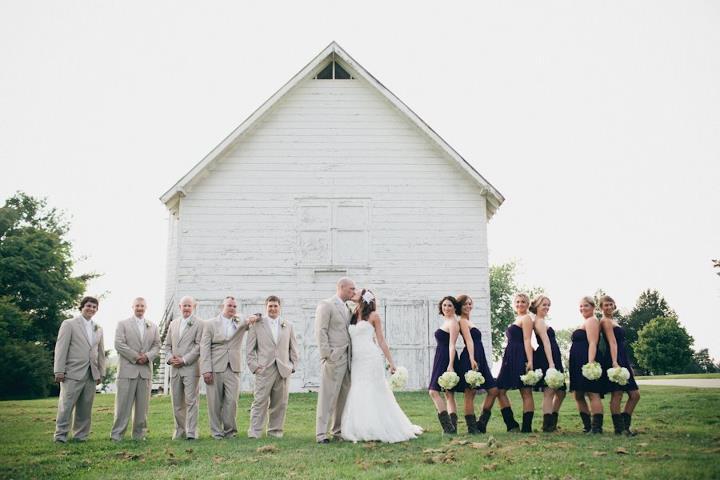 sesja z druhnami plenerowy ślub
