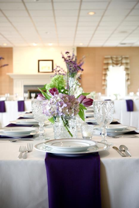 zastawa i dekoracja stołu wesele
