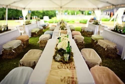 snopki słomy wesele