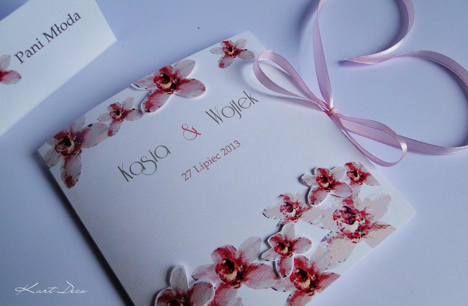 ręcznie robione zaproszenia slubne z papieru hand made scrapbooking