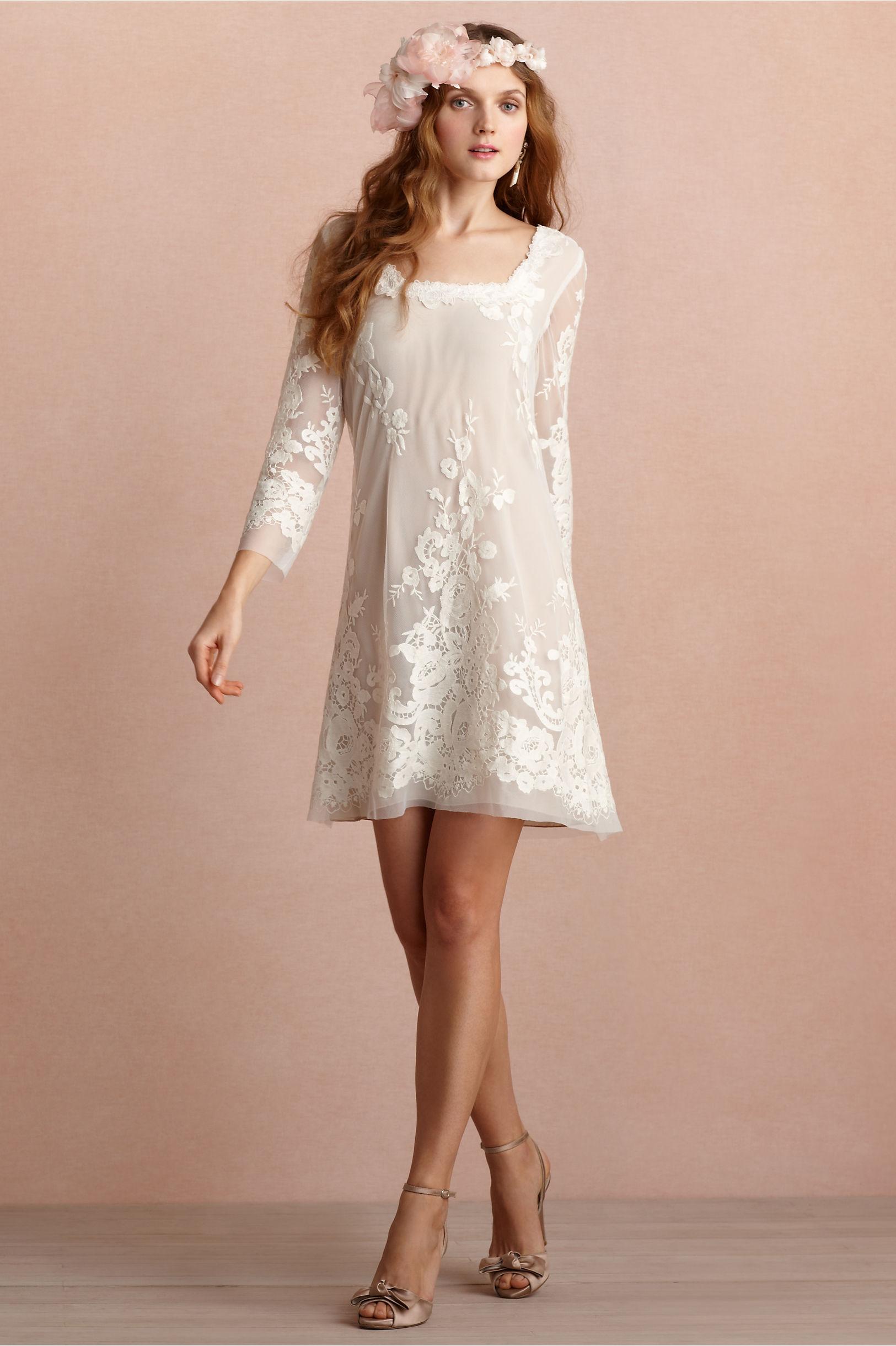sukienka suknia ślubna BOHO romantyczna kwiatowa trendy ślubne 2013