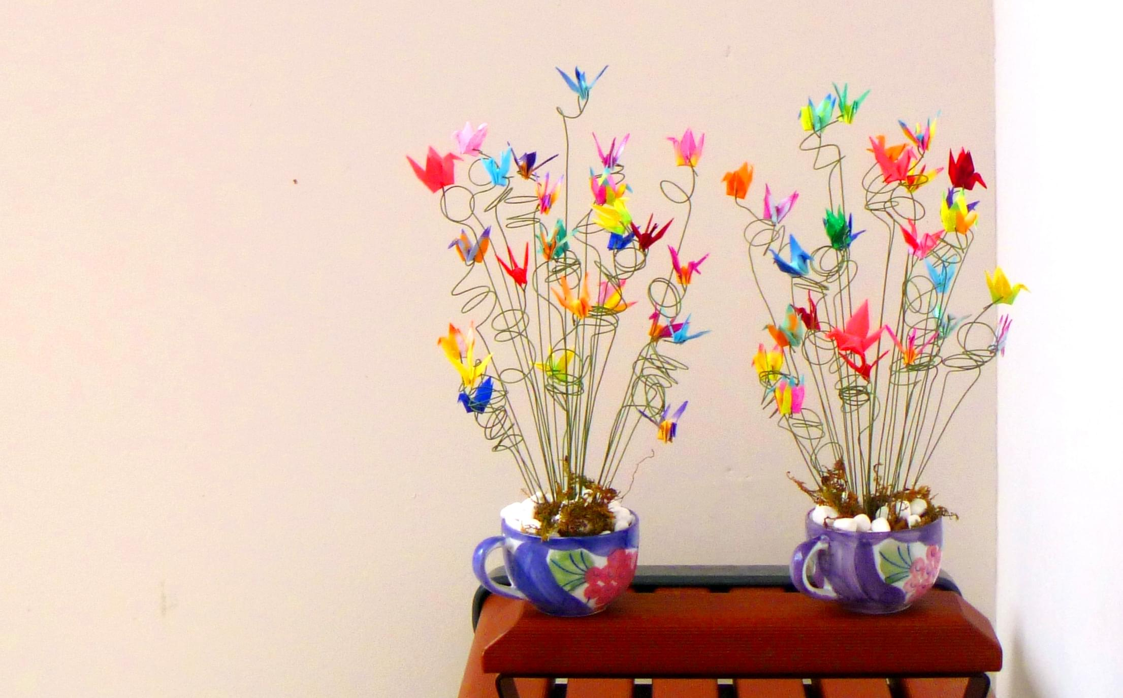 dekoracje papierowe zrób to sam origami