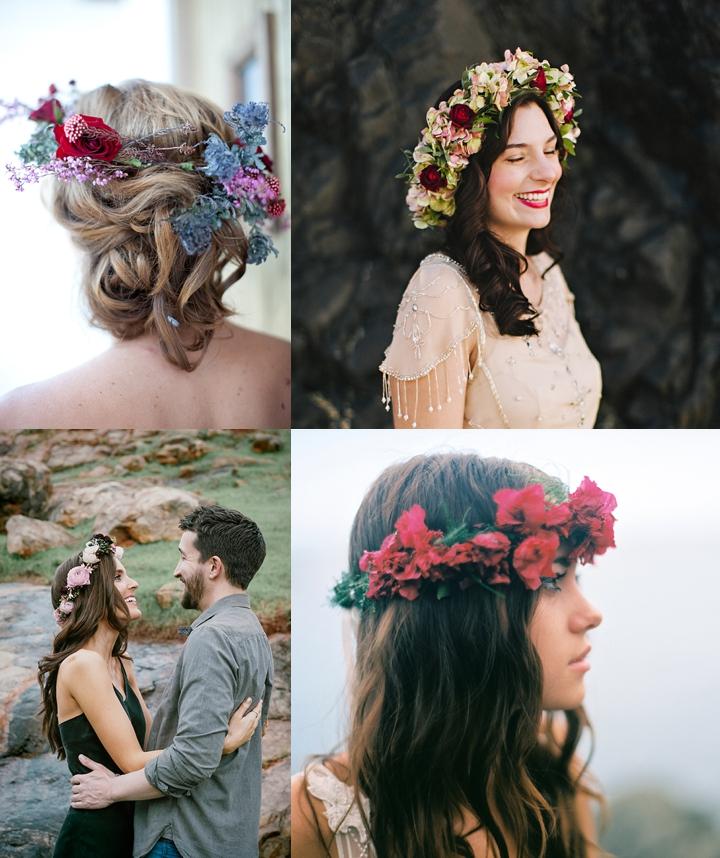 44 Pomysły Na Wianek ślubny Z żywych Kwiatów Dla