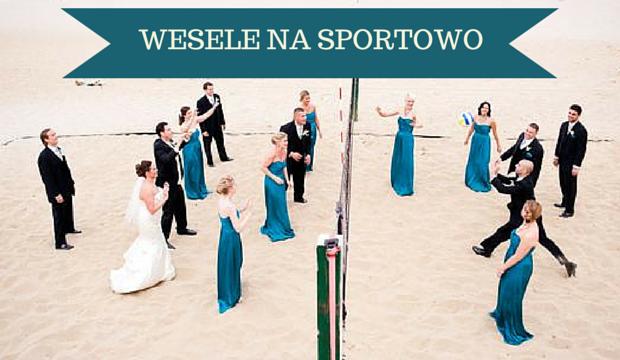 8 pomysłów sportowy motyw wesela