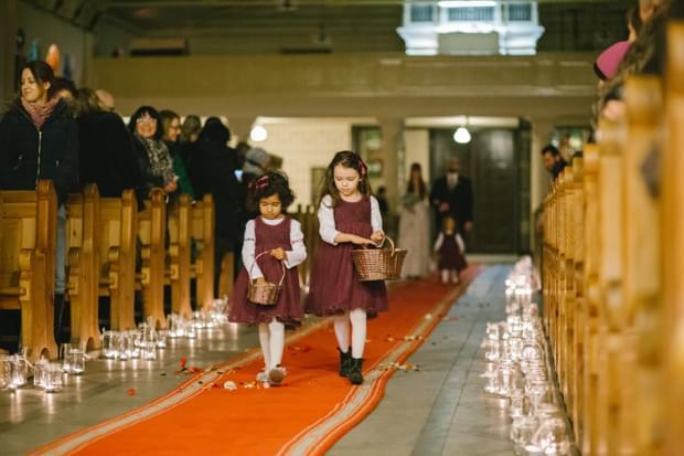 druhenki w kościele