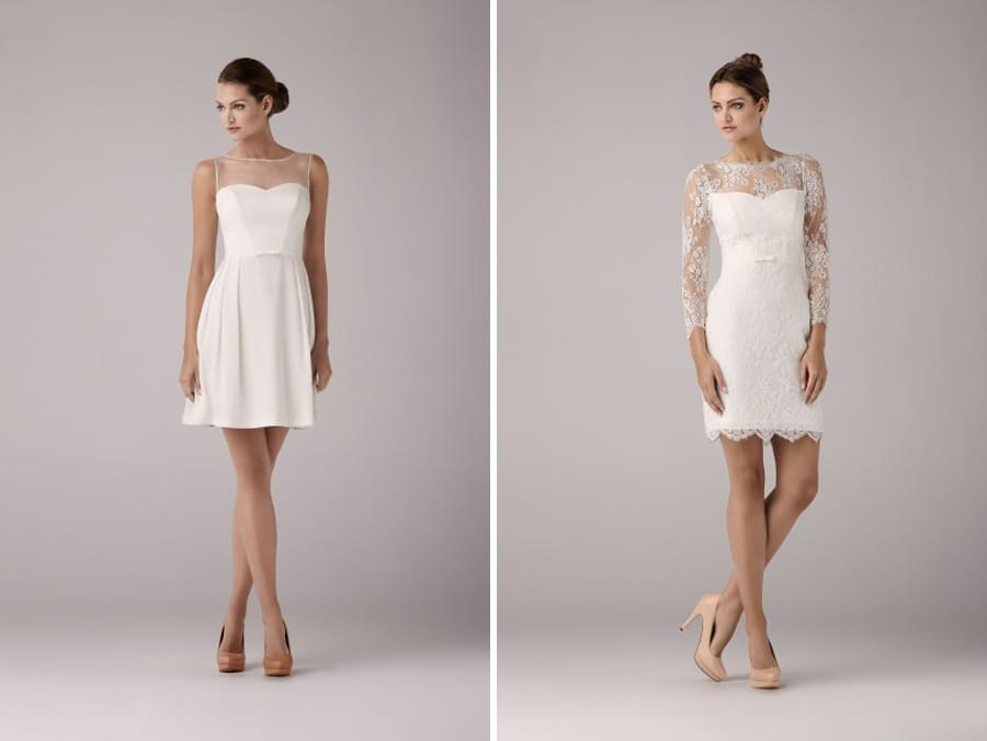 Anna Kara kolekcja 2014 suknie ślubne krótkie sukienki do slubu