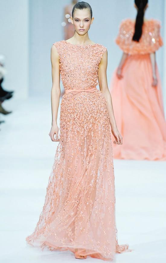 EllieSaab2012 pastelowe suknie ślubne