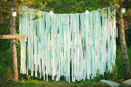 miętowe dodatki dekoracje wesele slub 2013