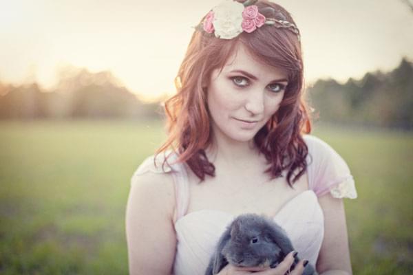 zwierzęta na sesji sesja ślubna ze zwierzętami