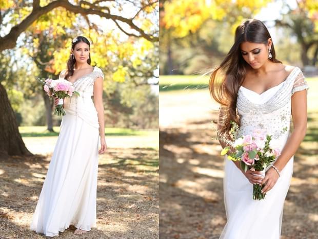 sesja ślubna jesienią zdjęcie