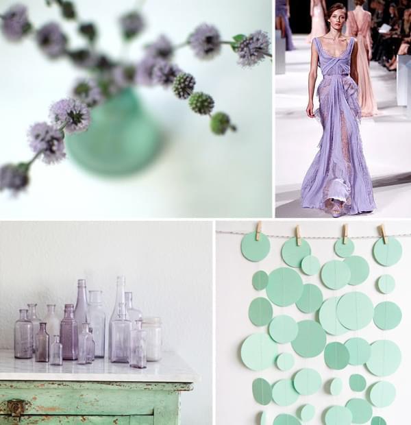 trendy wesele ślub 2013 pastelowe
