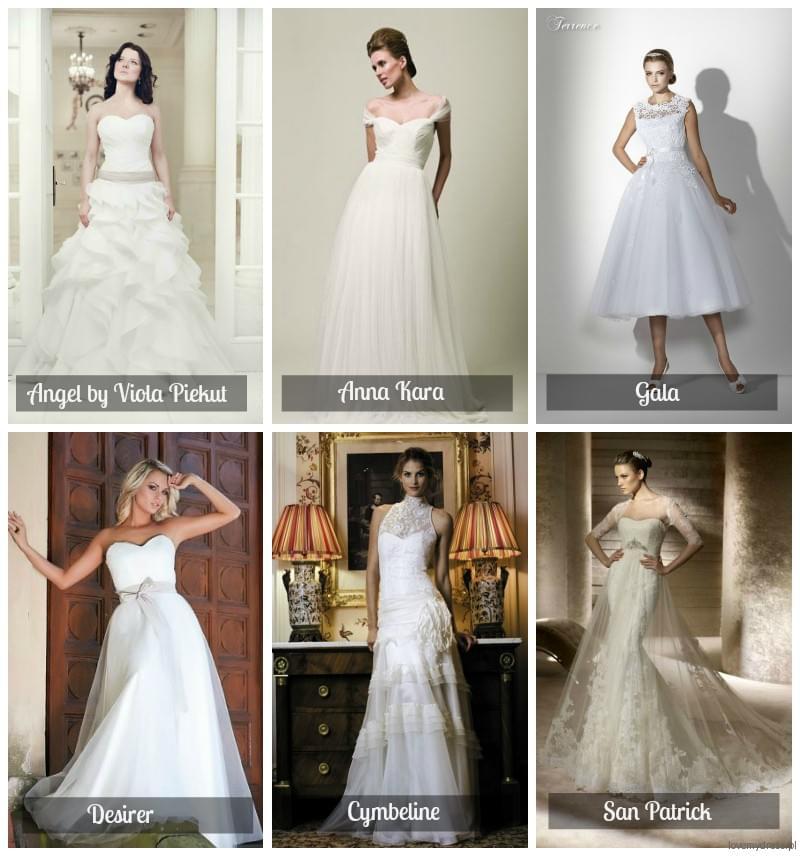najpiękniejsze suknie ślubne 2012 gala anna kara cymeline desirer san patrick