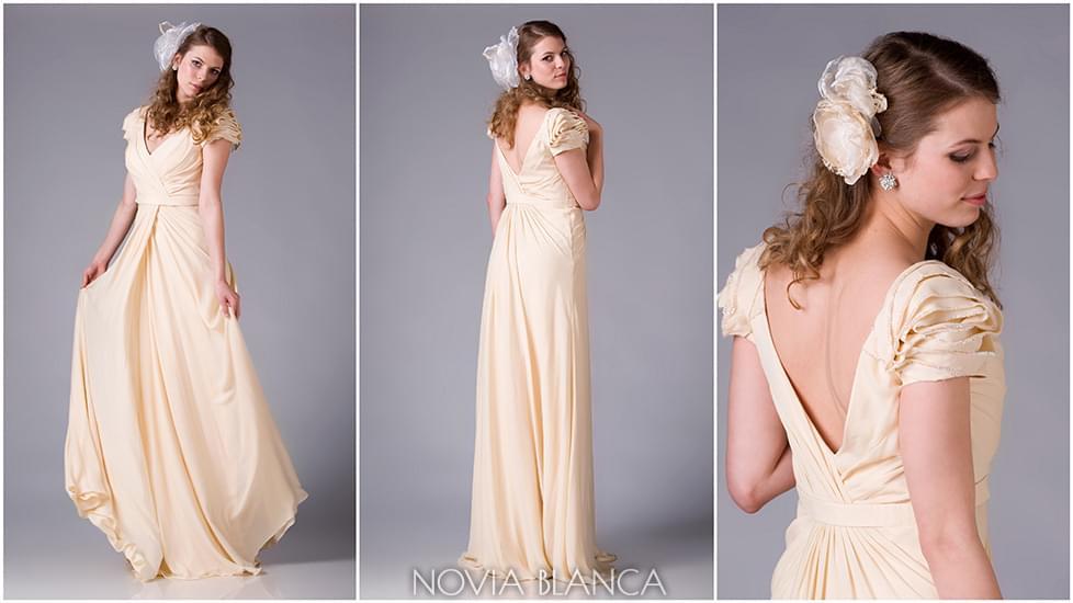 Alchemilla suknie ślubne szyte na miarę Novia Blanca blog slubny sklep online warszawa atelier 2013 ślub wesele trendy moda