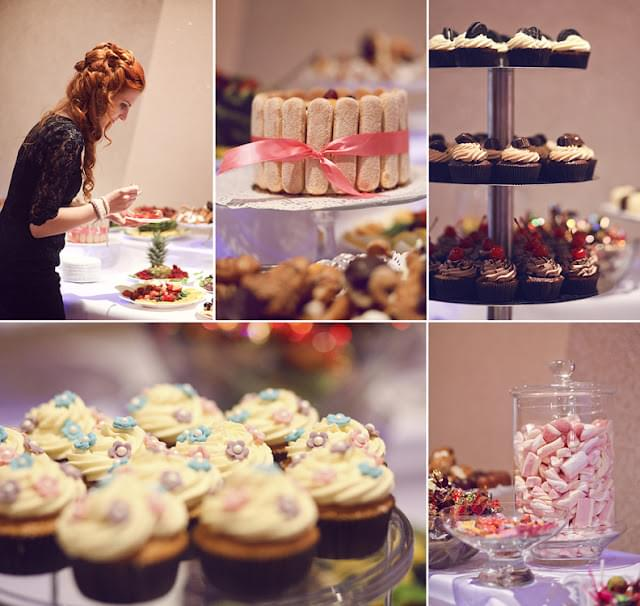 muffinki na weselu