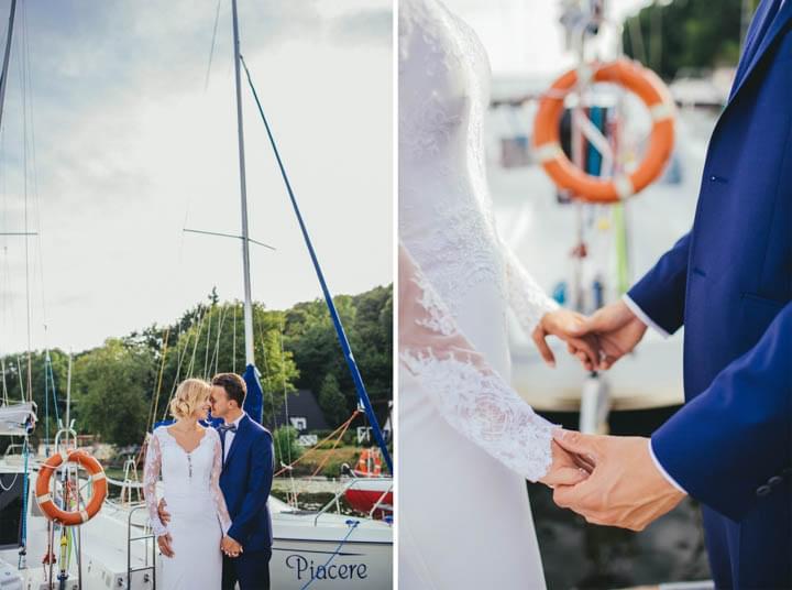 anna dedo sesja ślubna nad jeziorem zdjęcia (1)