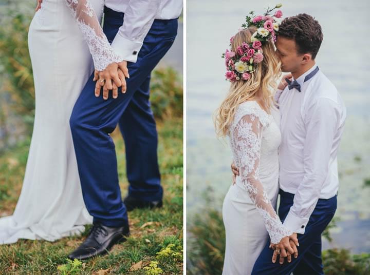 anna dedo sesja ślubna nad jeziorem zdjęcia (5)