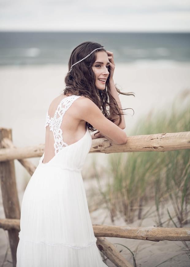boho suknia ślubna zdjęcie