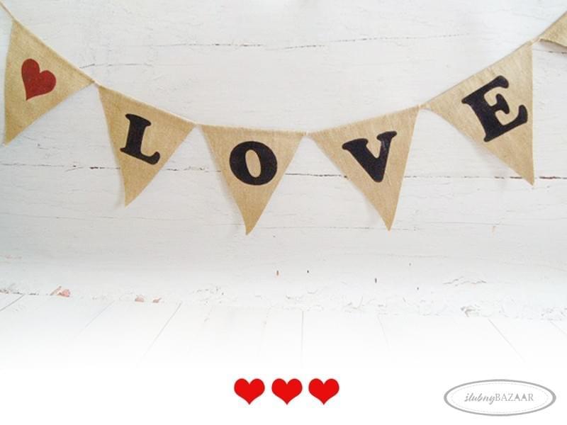 baner chorągiewki ślub sesja sklep sweet wedding blog