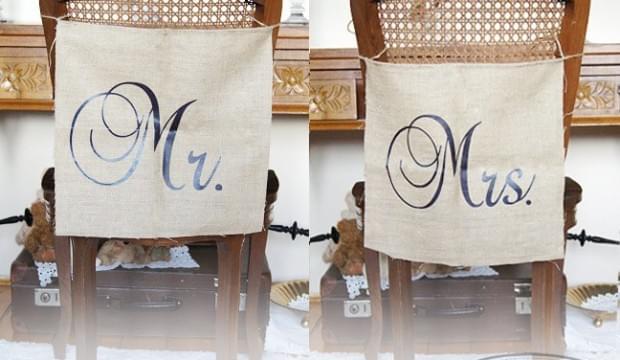 banerki banery chorągiewki do sesji fotograficznej narzeczeńskiej na wesele na ślub