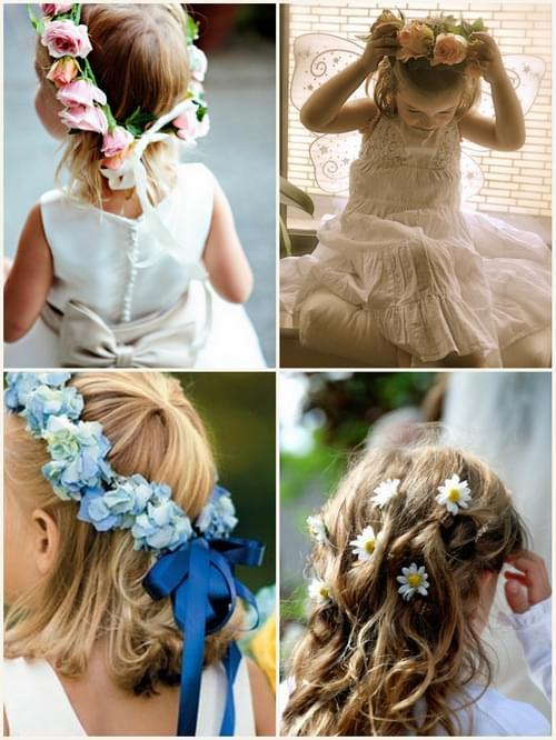 fryzura dla dziewczynki wesele ślub 2012 2013