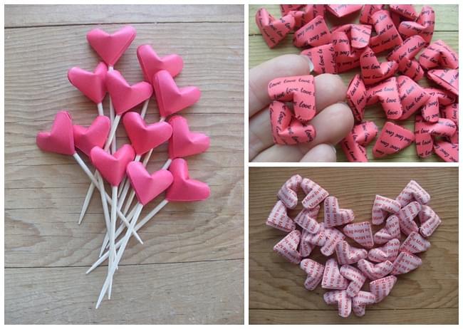 cukierki wesele dekoracje origami