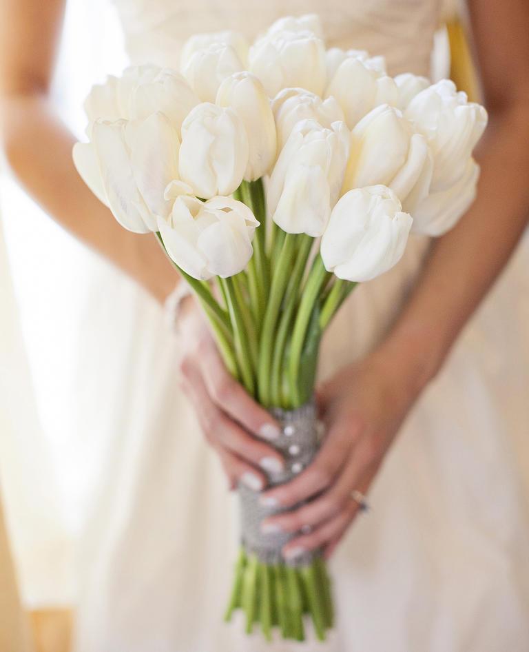 Bukiet z białych tulipanów / zdjęcie: lloydphotographers.com