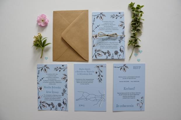 botaniczne zaproszenia