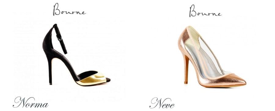 bourne buty ślubne szpilki