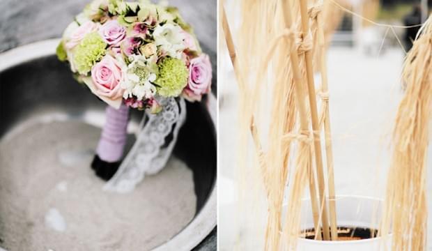 bukiet ślubny kwiaty