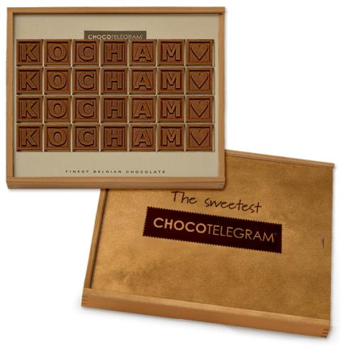 czekoladowy telegram