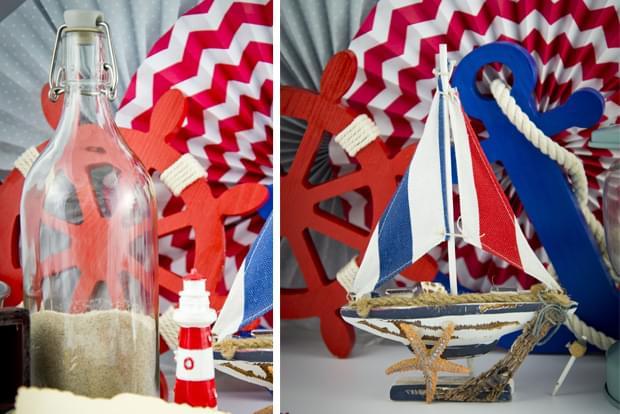 dekoracja na wesele morskie zdjęcie