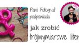 litery 3d monogramy