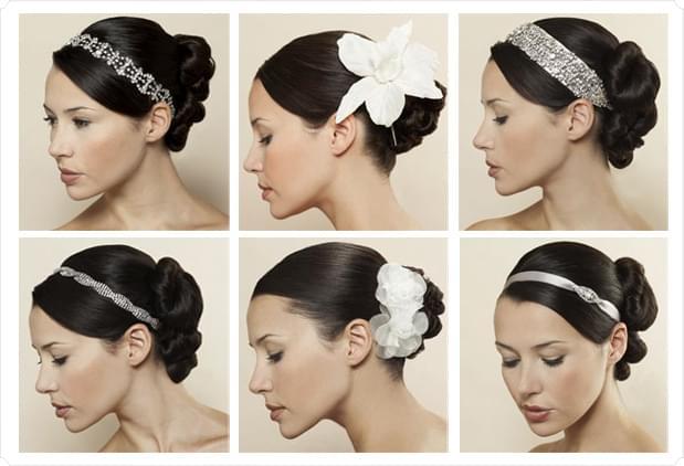 klasyczne uczesanie fryzury wesele długie półdługie włosy