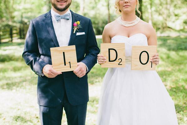 scrabble ślub inspiracja scrabble wesele motyw przeowdni