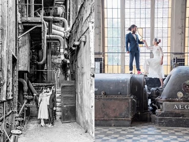 industrialna sesja ślubna w fabryce (13)