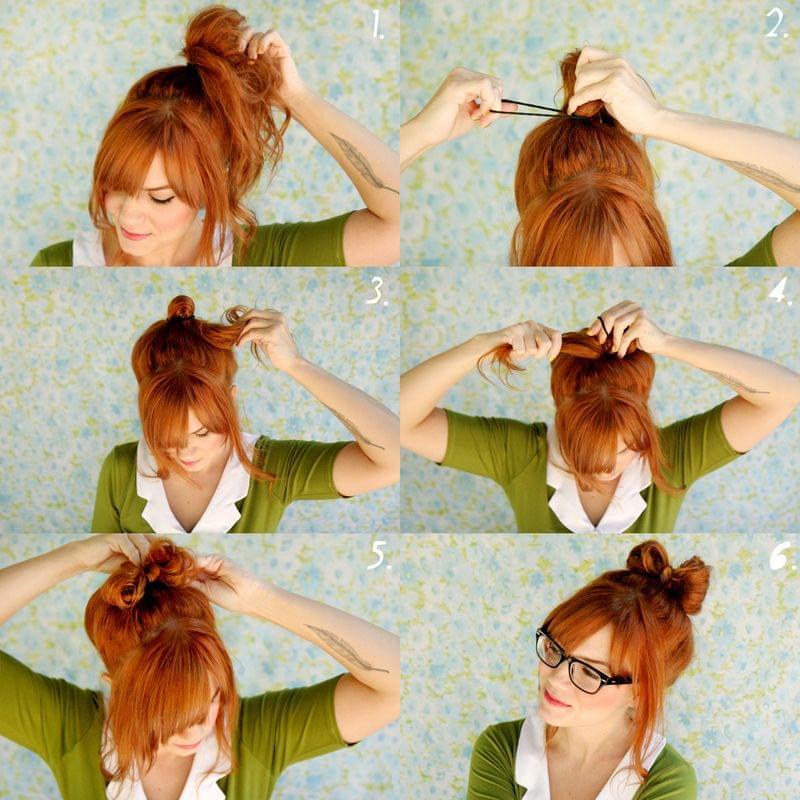 jak się uczesać na ślub kokarda z włosów