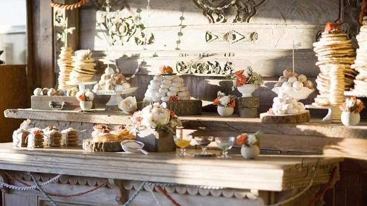 jesienny ślub dekoracje
