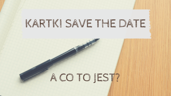 kartki save the date